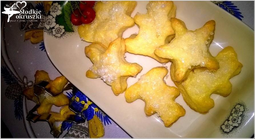 Serowe ciasteczka z cukrem 3
