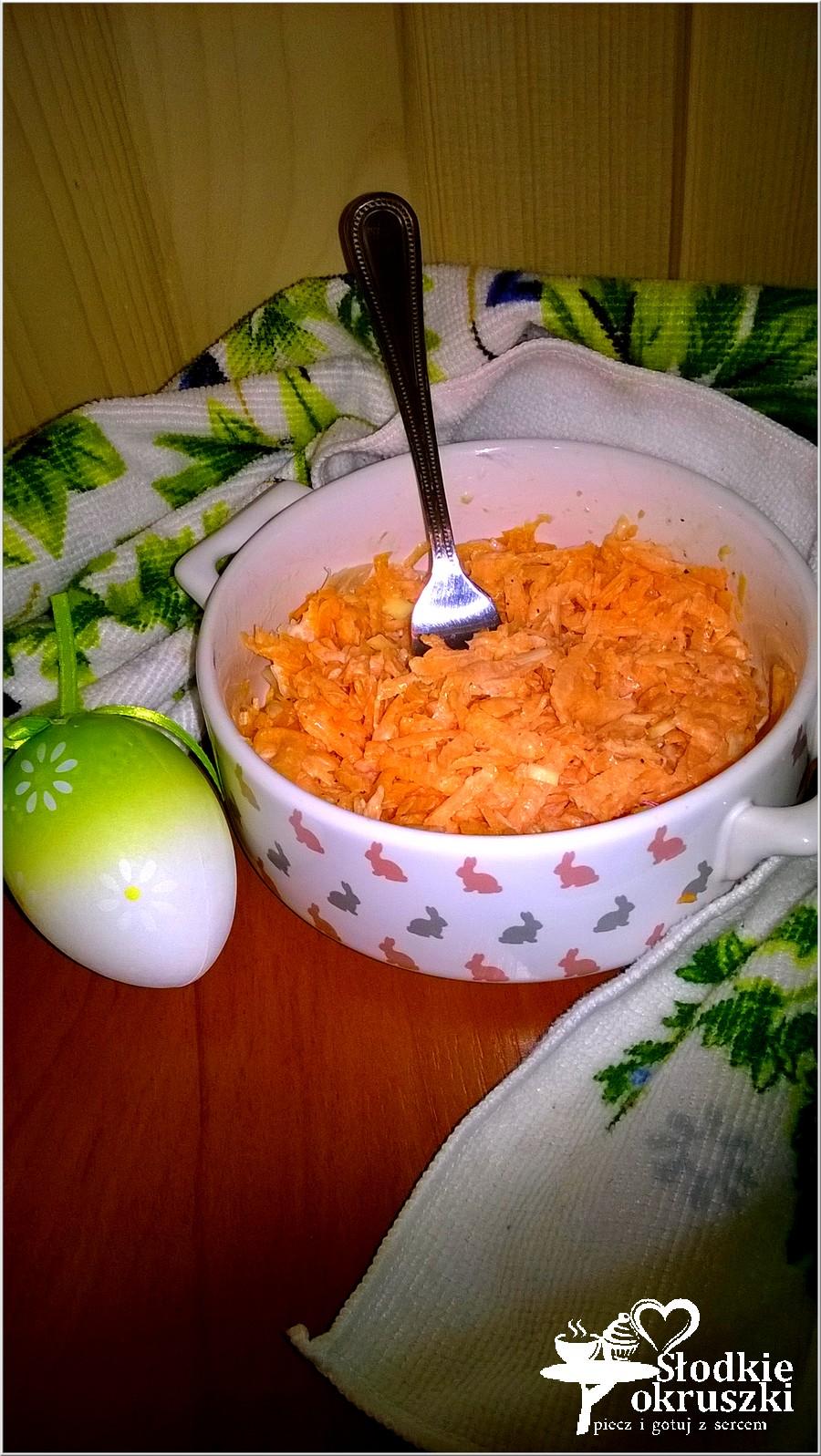 Surówka marchewkowa z chrzanową nutą (1)