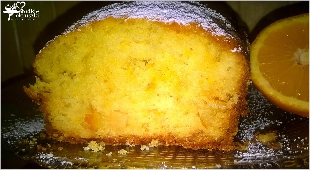 Szybkie pomarańczowe ciasto 2
