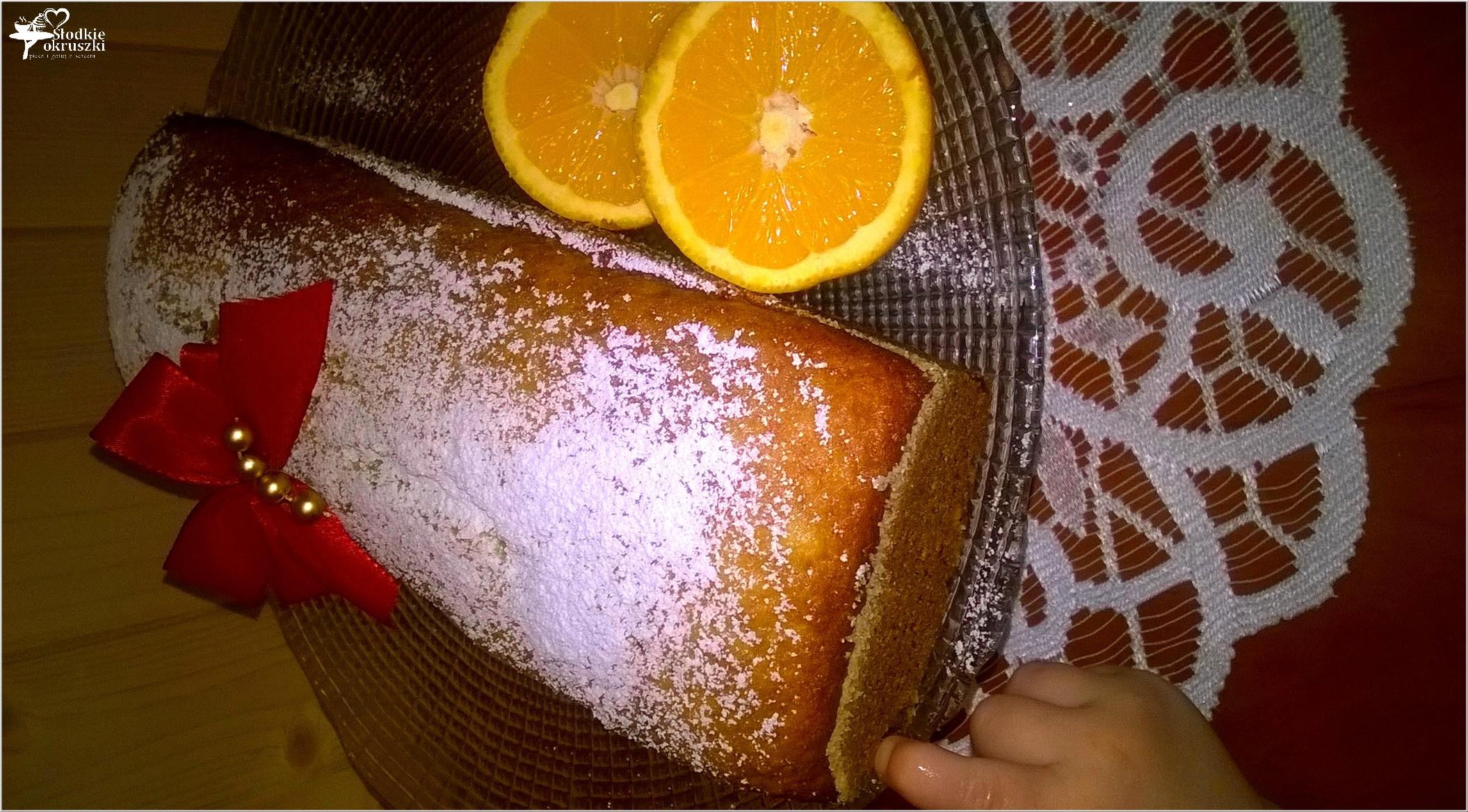 Szybkie pomarańczowe ciasto 3