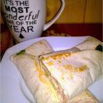 Tortilla z delikatną pastą z tuńczyka