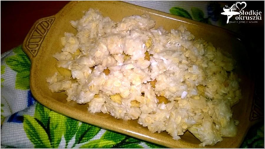Zapiekany kokosowo-owsiany deser z cynamonowym jabłuszkiem (5)