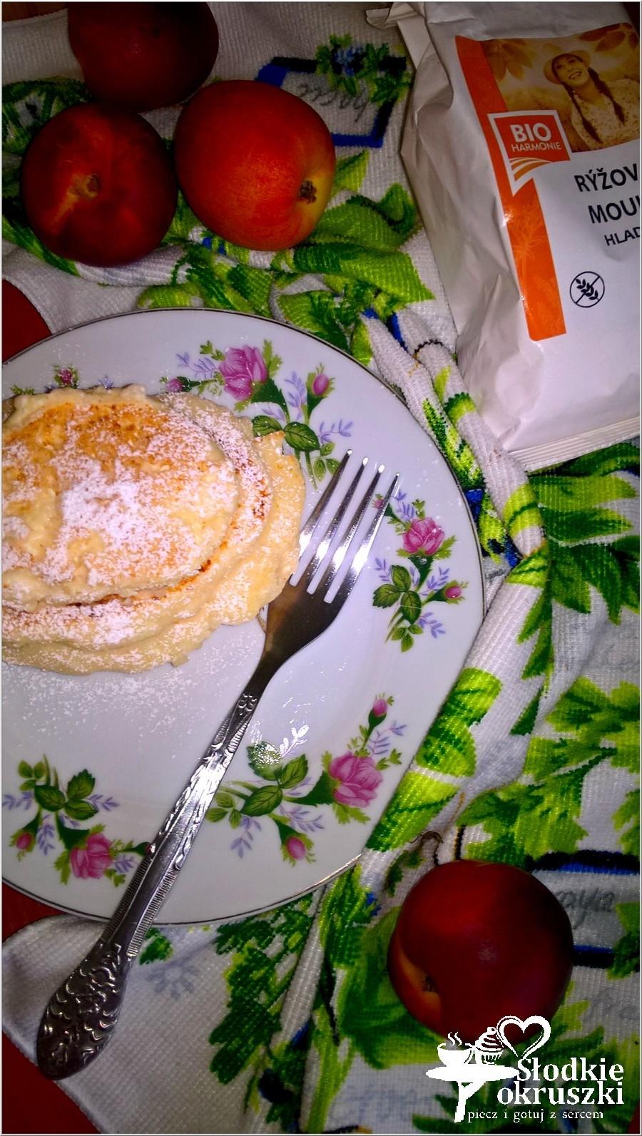 Lżejsze placuszki twarogowe na mące ryżowej 3