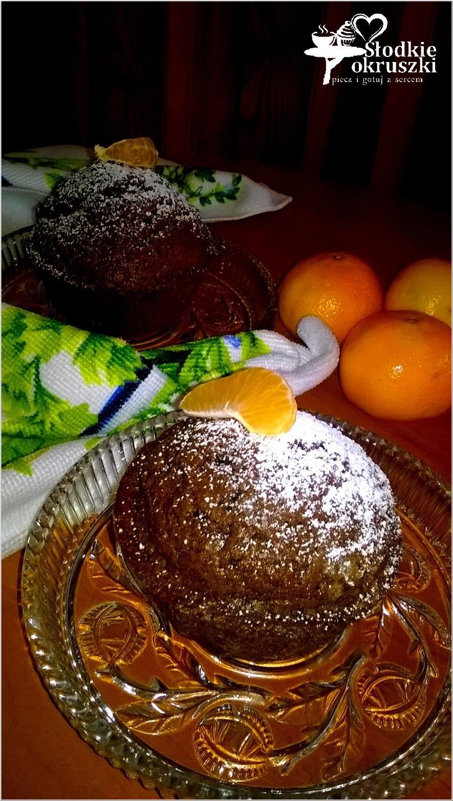 Czekoladowe babeczki Czarny ląd (z dodatkiem czekolady lub nutelli) (2)