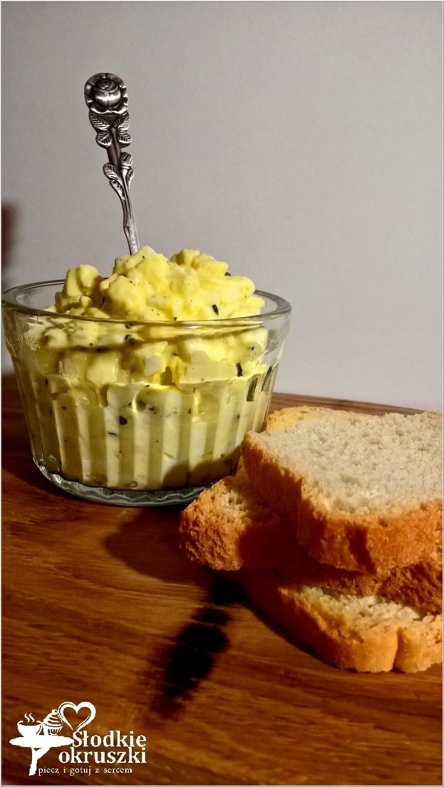 Pasta kanapkowa light z czarnuszką. Lekka pasta kanapkowa. (1)