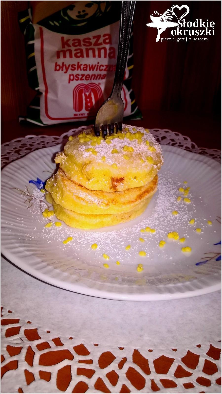 Placuszki z kaszy manny ze skórką pomarańczową (na oleju kokosowym) (1)