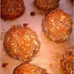 Karobowe kokoski (ciasteczka bez mąki)