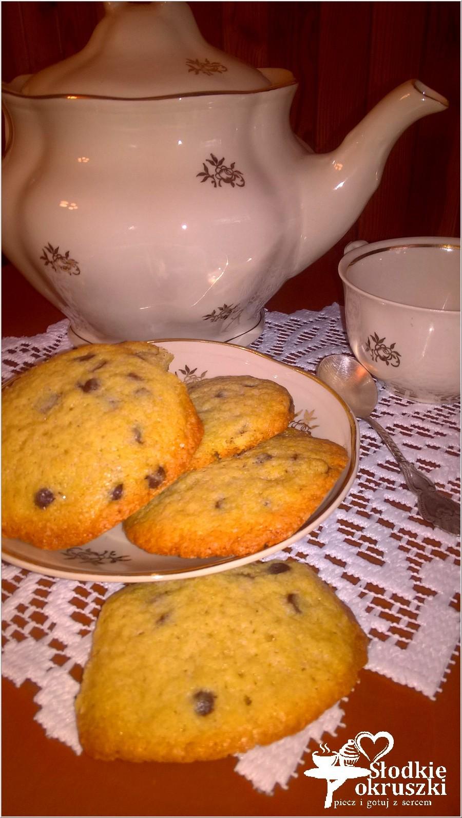 Chocolate chip cookies. Najłatwiejsze ciasteczka z kawałkami czekolady. (1)