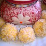 Dietetyczne kuleczki a la rafaello (z kaszy jaglanej)