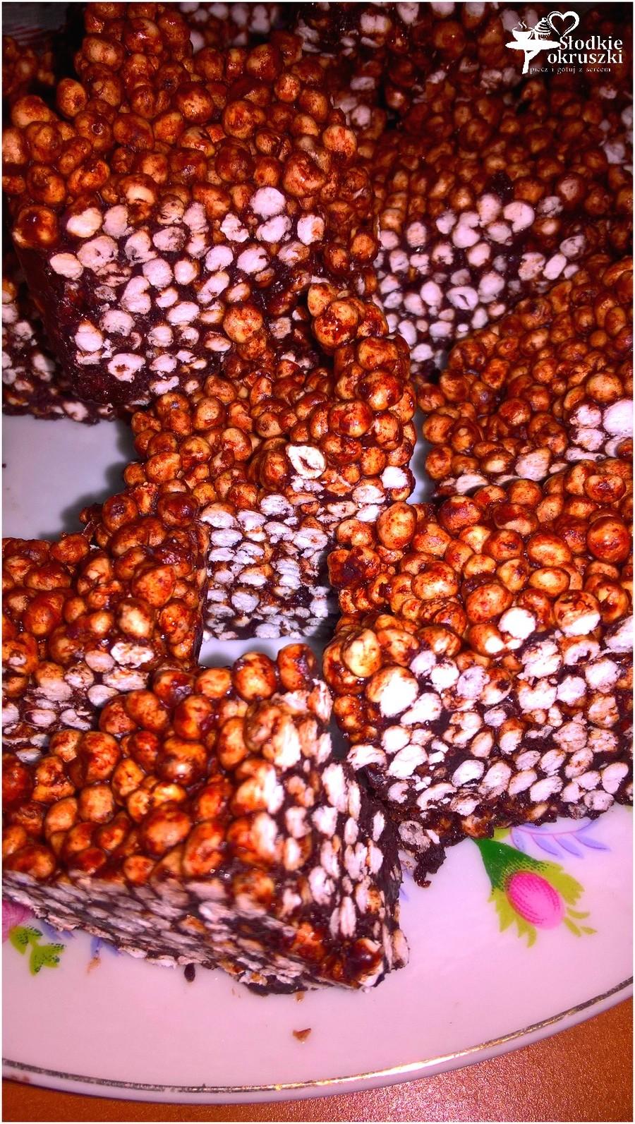 Zdrowe batoniki z dmuchanej kaszy jaglanej (na oleju kokosowym) (1)