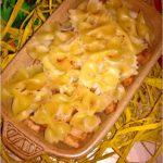 Zapiekanka makaronowa z cynamonowym jabłuszkiem