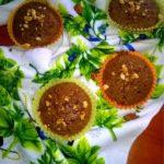 Czekoladowo karmelowe babeczki