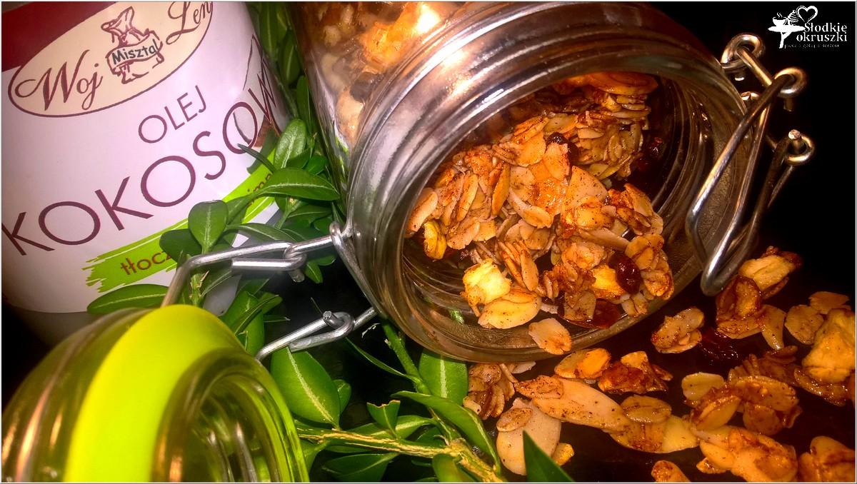 szybka-cynamonowa-granola-z-suszonym-jablkiem-2