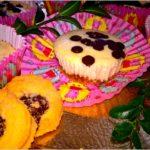 Nakrapiane serniczki ze słodką niespodzianką