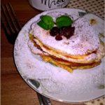Leciutkie placuszki serowe z miodem