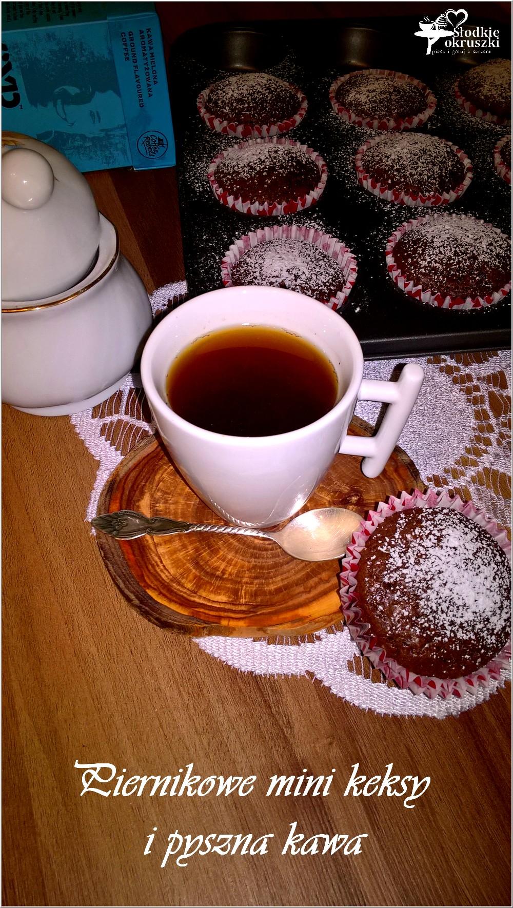 Piernikowe mini keksy i pyszna kawa (4)