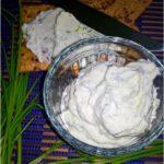 Zdrowy kremowy serek kanapkowy