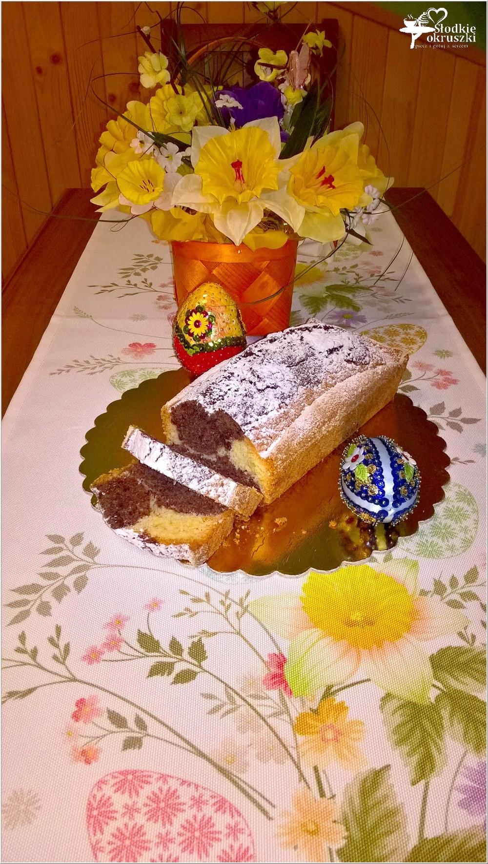 Babka waniliowo-kakaowa na świąteczny stół (2)