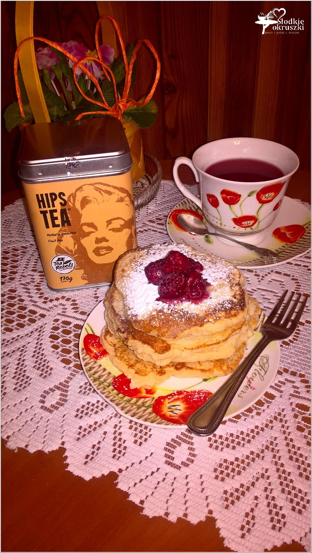 Gruszkowe placuszki z kaszy manny + kilka słów o herbacie (1)