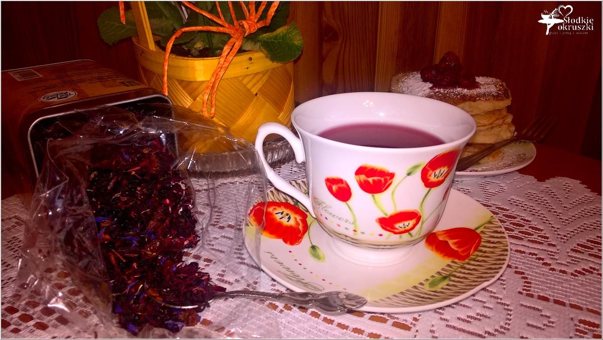 Gruszkowe placuszki z kaszy manny + kilka słów o herbacie (5)