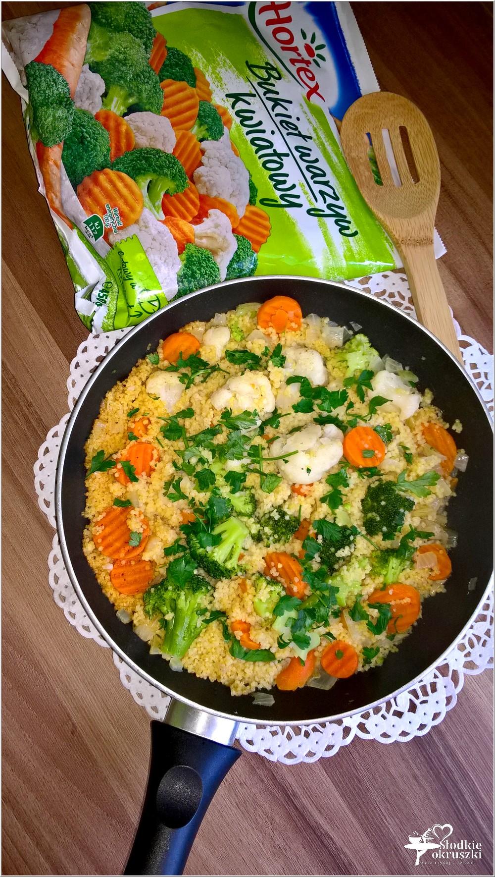 Kasza jaglana z bukietem warzyw. Obiad pełen zdrowia (1)