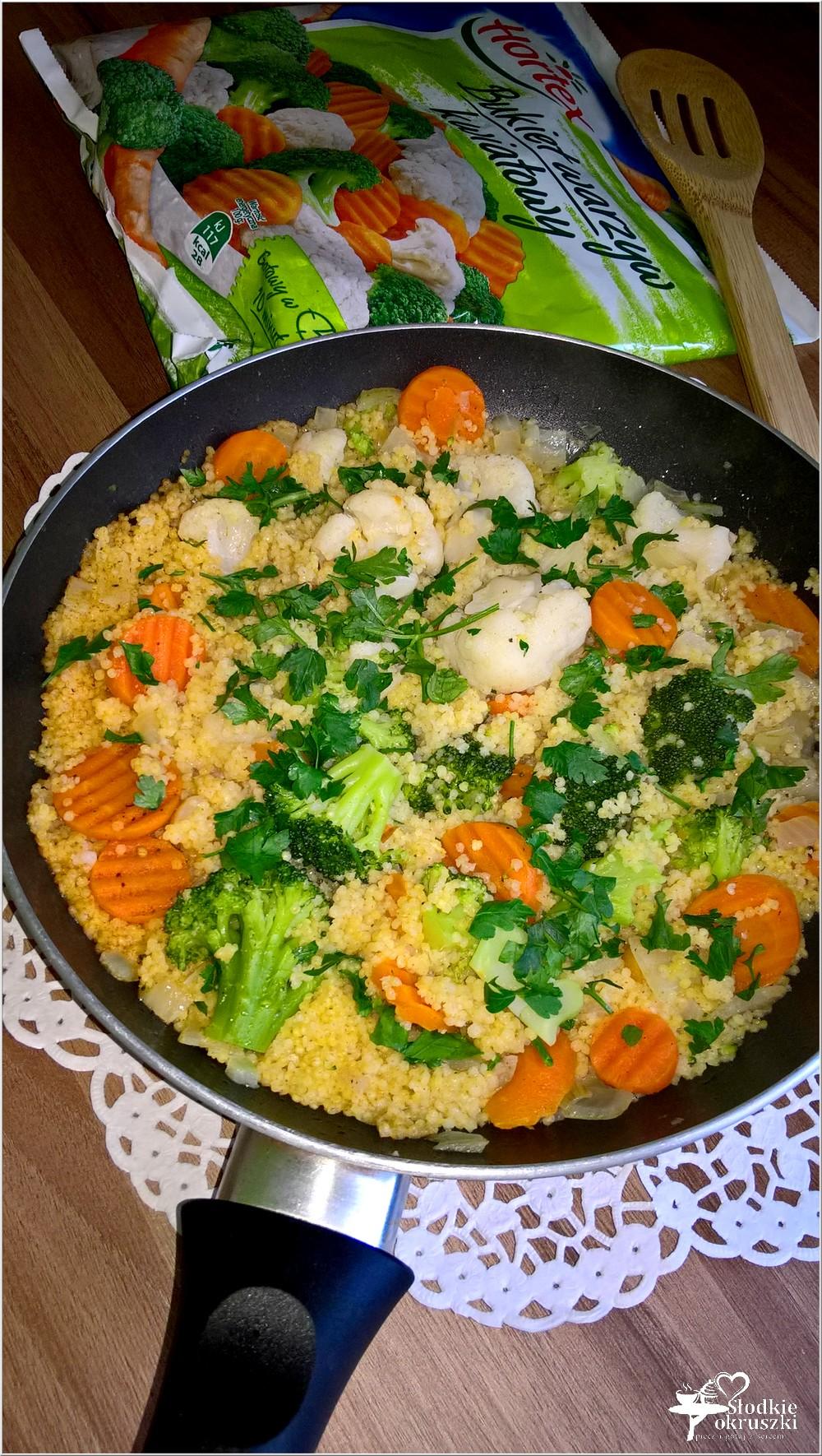 Kasza jaglana z bukietem warzyw. Obiad pełen zdrowia (3)
