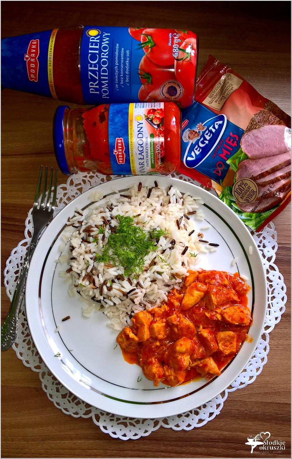 Kurczak w paprykowo-pomidorowym sosie (na bazie ajvaru) (2)