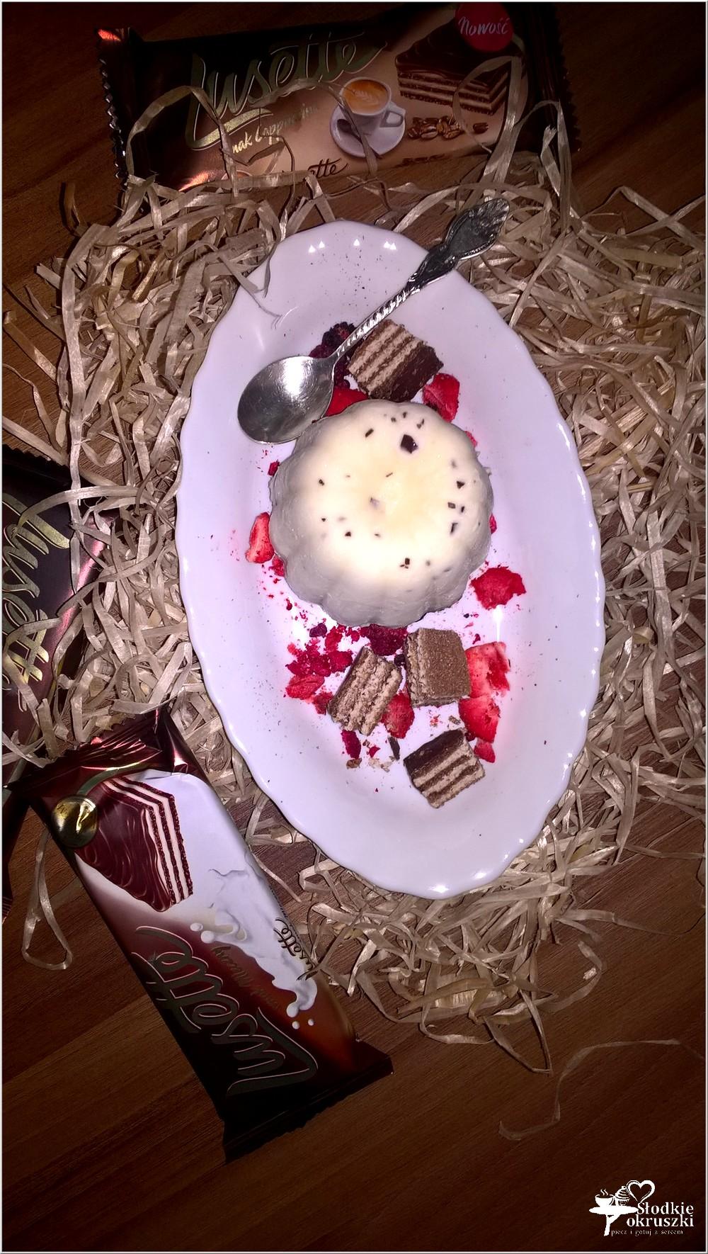 Lodowy deser cappuccino (dla zakochanych). Lusette łączy.