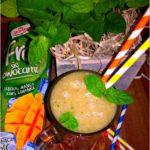 Orzeźwiające smoothie z zielonym akcentem