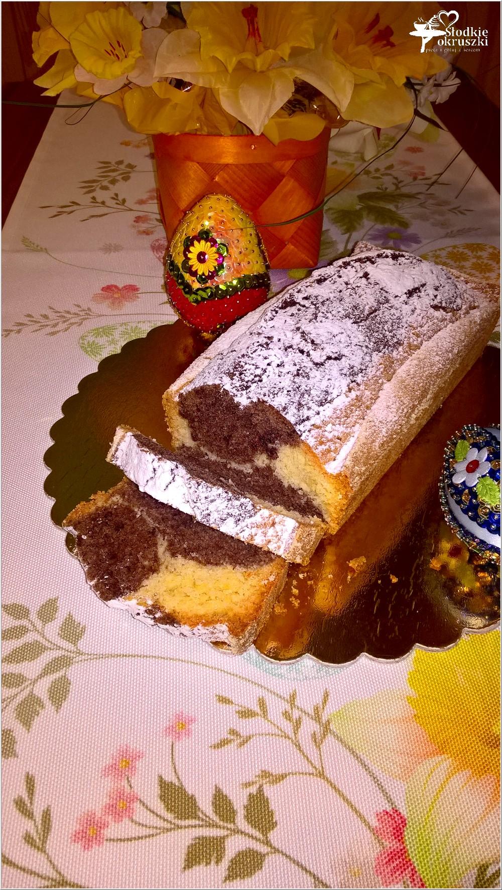 Szybka babka waniliowo-kakaowa na świąteczny stół (5)