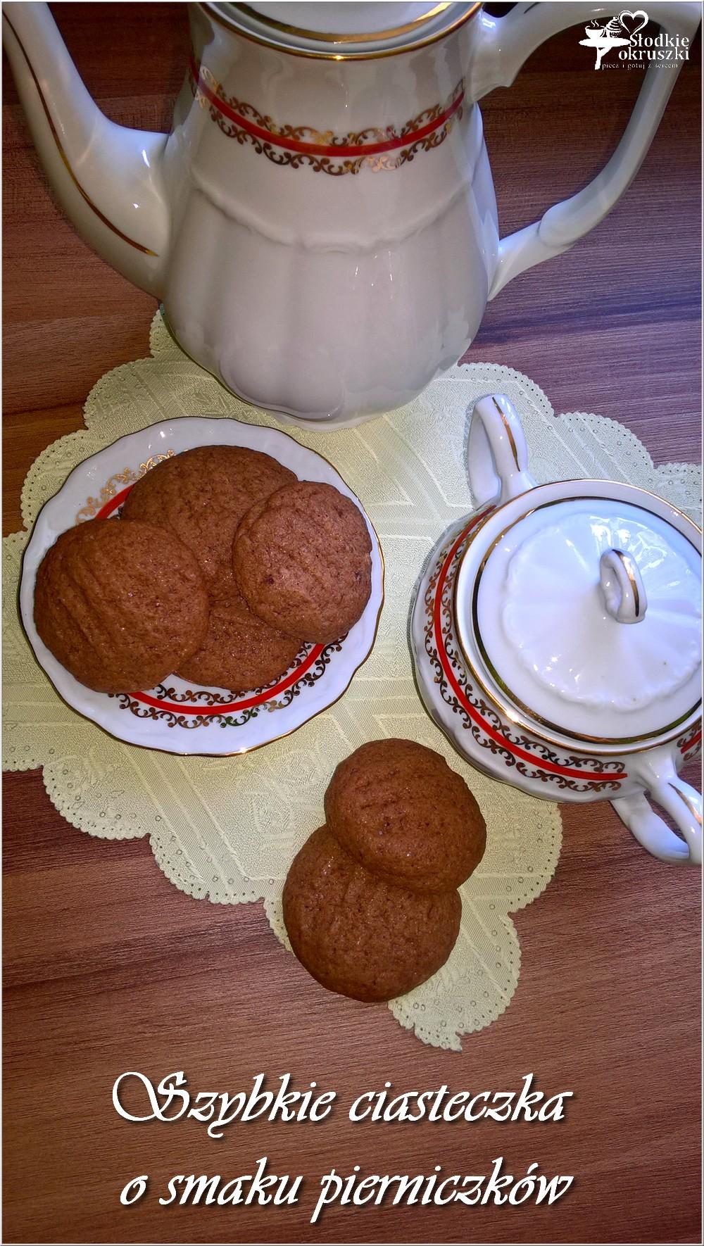 Szybkie ciasteczka o smaku pierniczków (1)