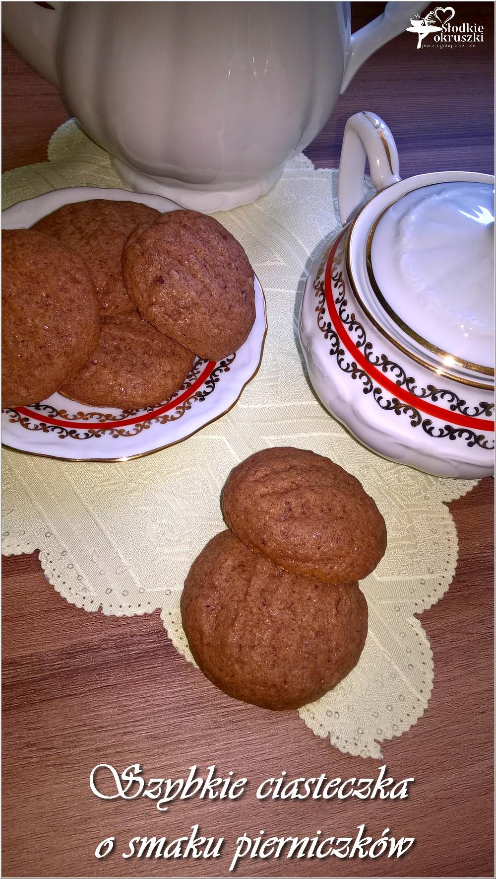 Szybkie ciasteczka o smaku pierniczków (2)
