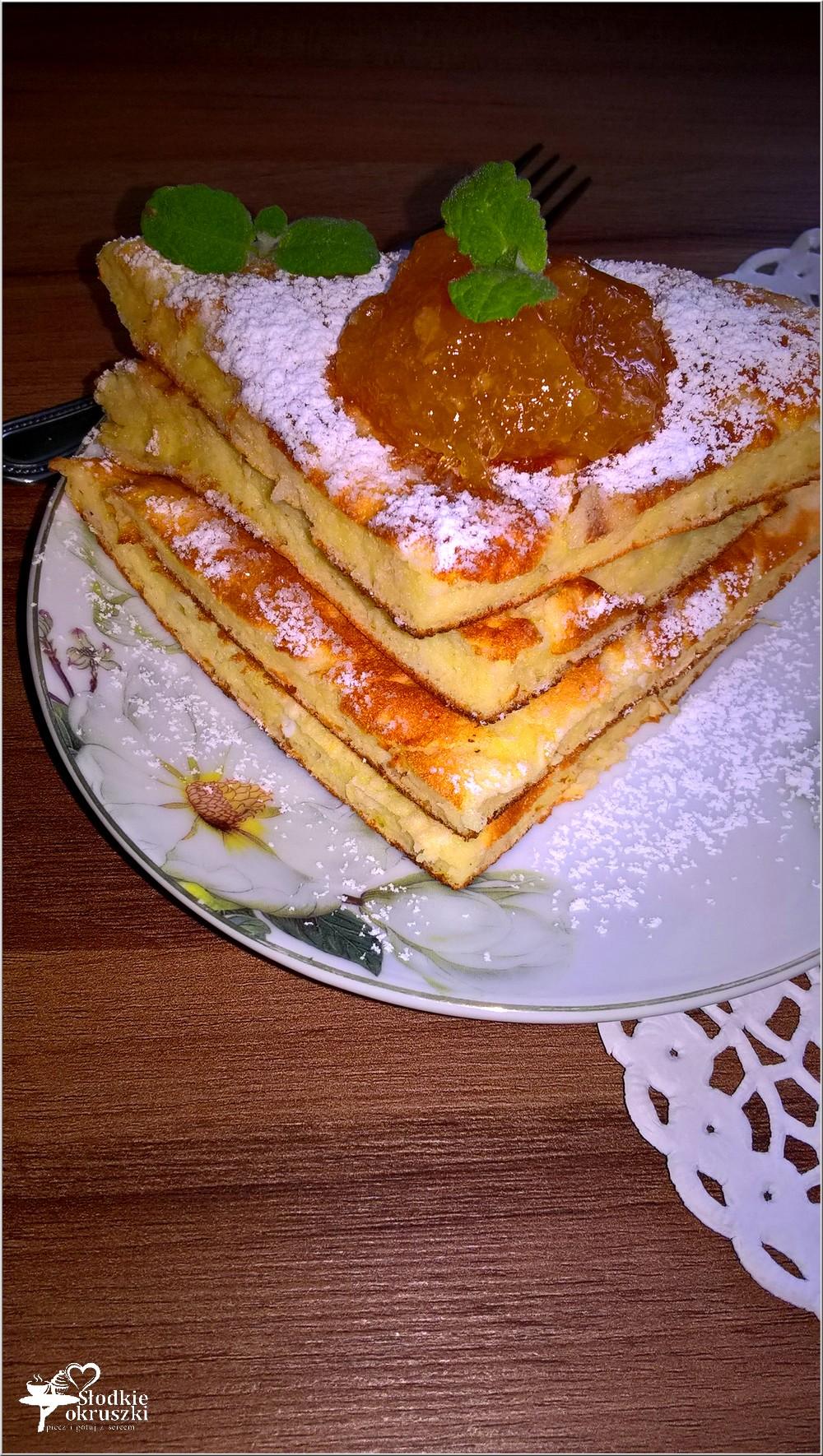 Waniliowo-serowy omlet z konfiturą pomarańczową (1)