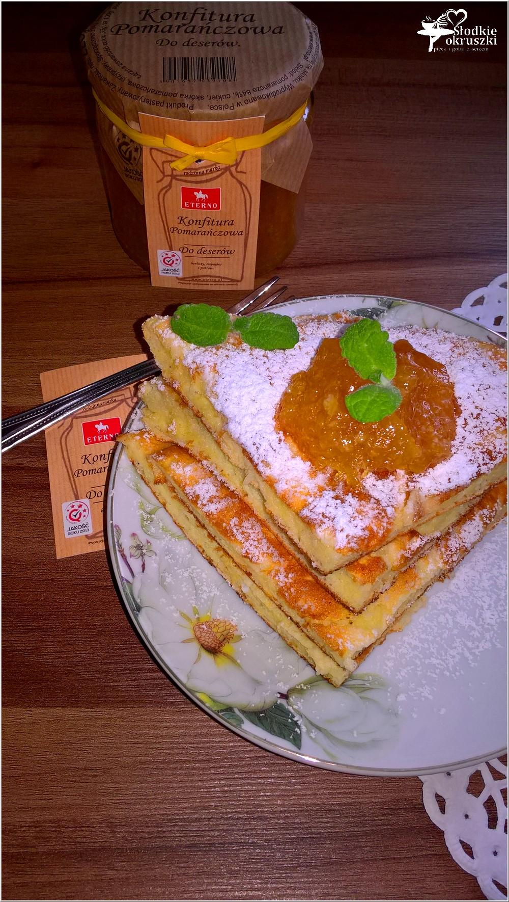 Waniliowo-serowy omlet z konfiturą pomarańczową (3)