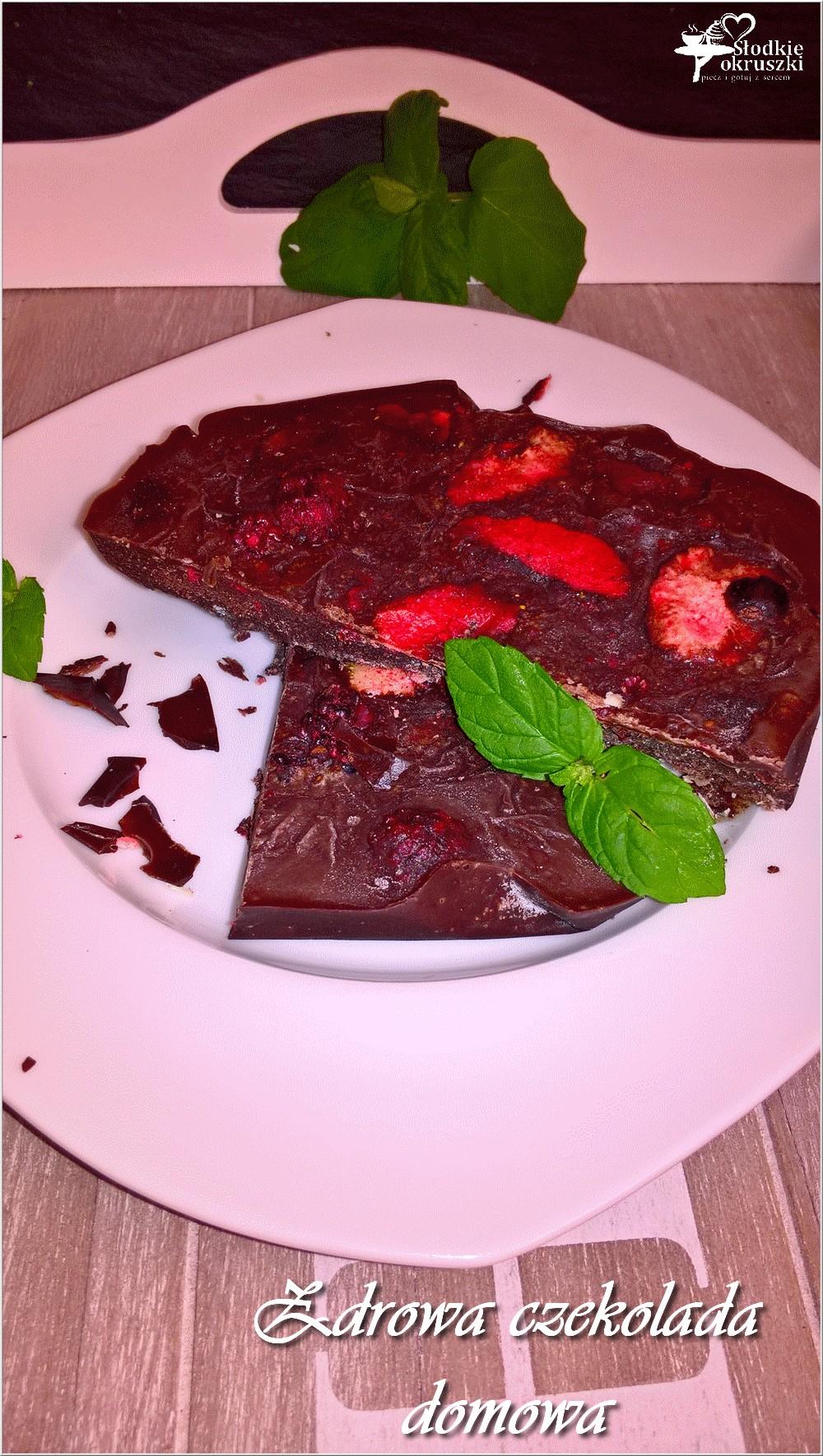 Zdrowa czekolada domowa (1)