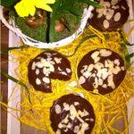 Mini babki z czekoladową krówką