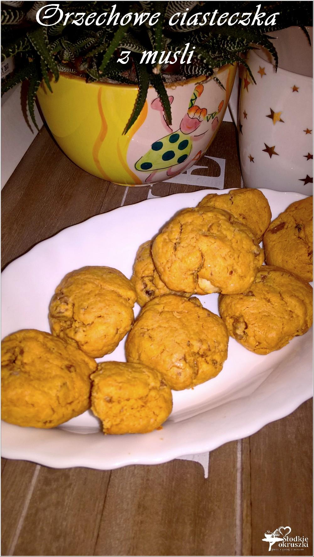 Orzechowe ciasteczka z musli (szybkie) (1)