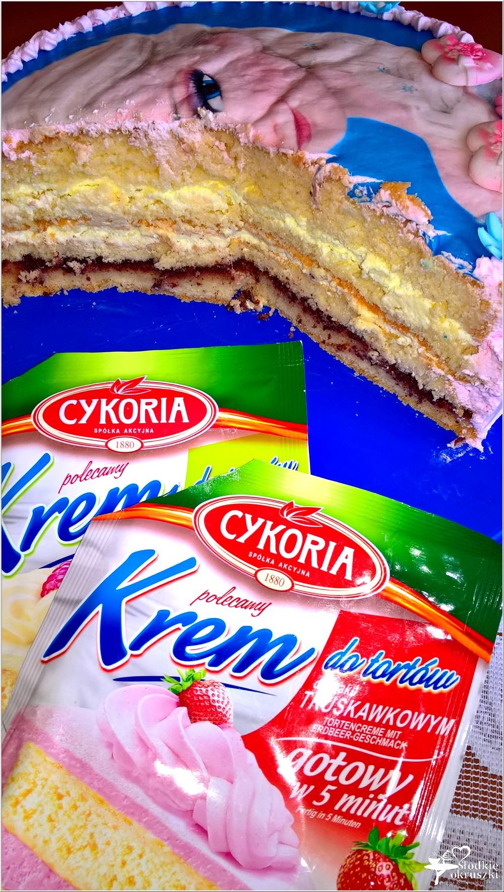Truskawkowo-cytrynowy tort na 5 urodziny (1)