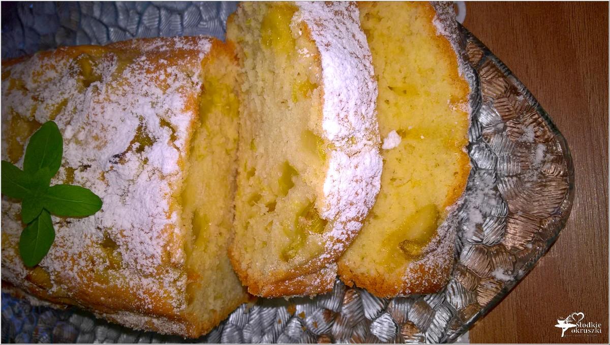Proste ciasto z rabarbarem. Przepis (3)