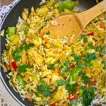 Quinoa z ryżem w azjatyckim wydaniu. Szybki obiad.