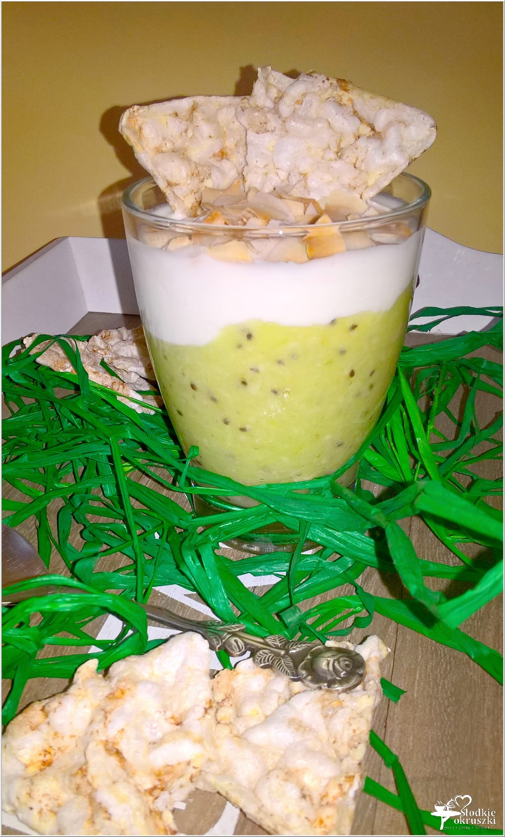 Lekki zielony deser (w kilka chwil) (1)