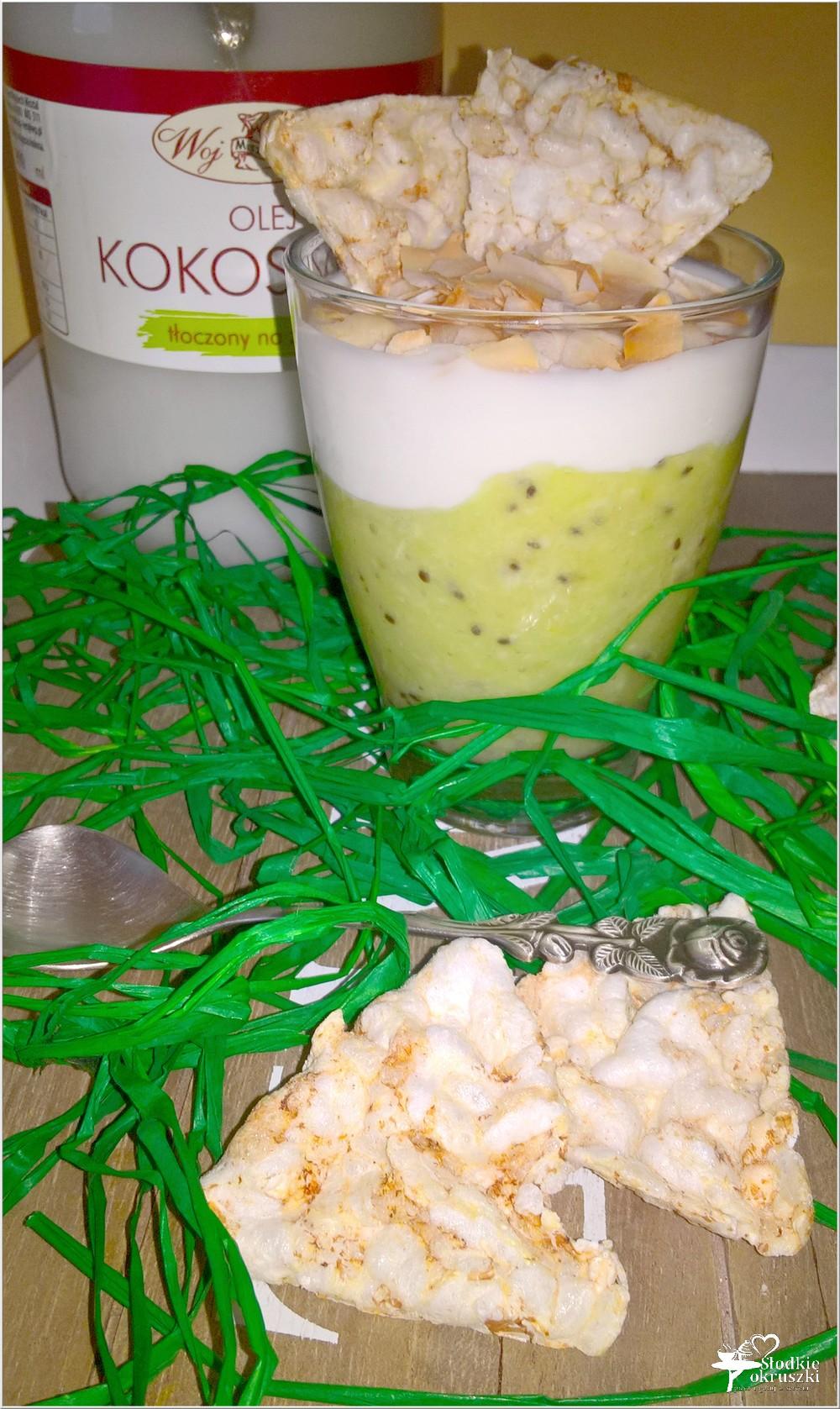 Lekki zielony deser (w kilka chwil) (2)