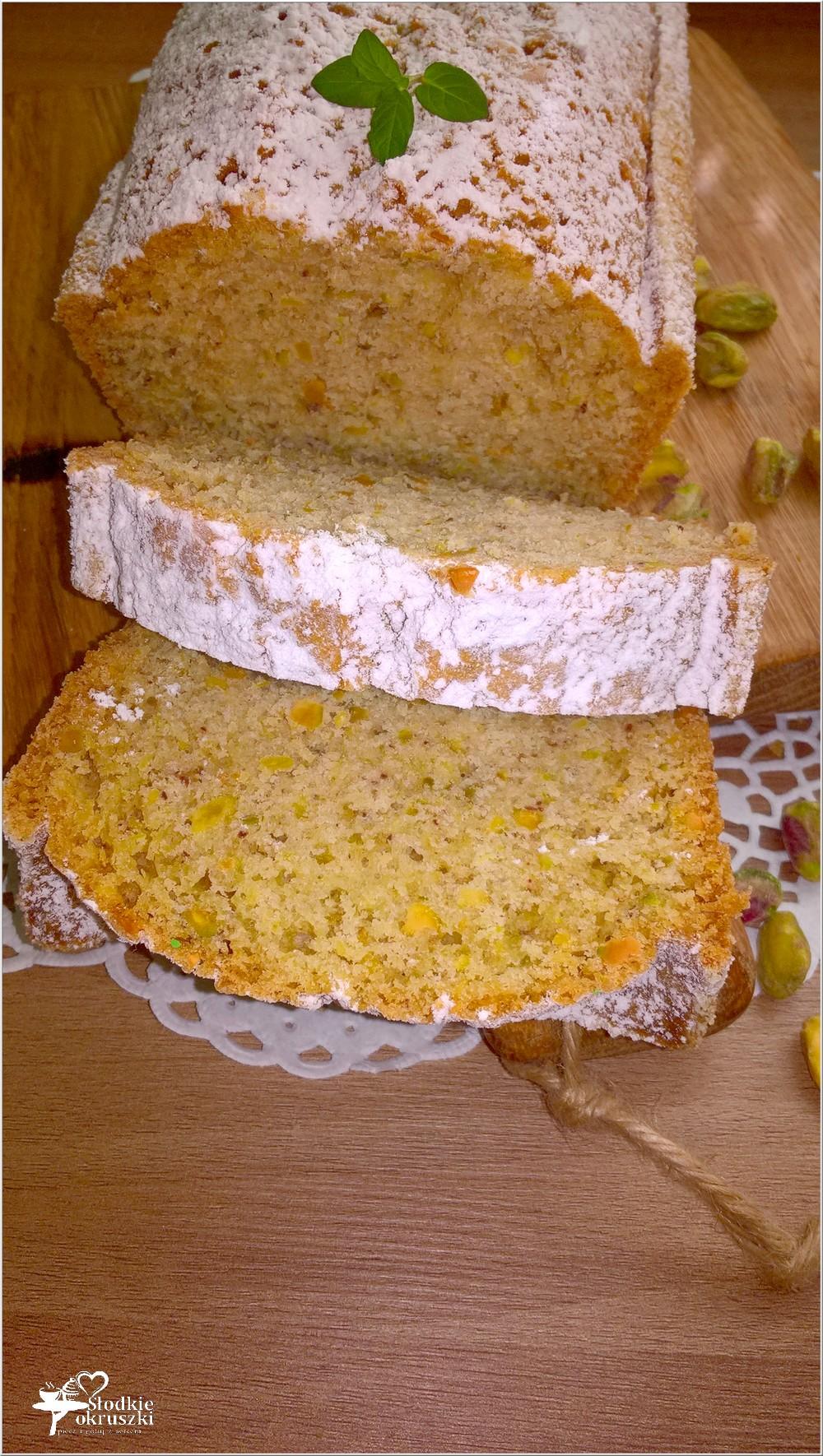 Szybka pistacjowa babka (bez miksera) (2)