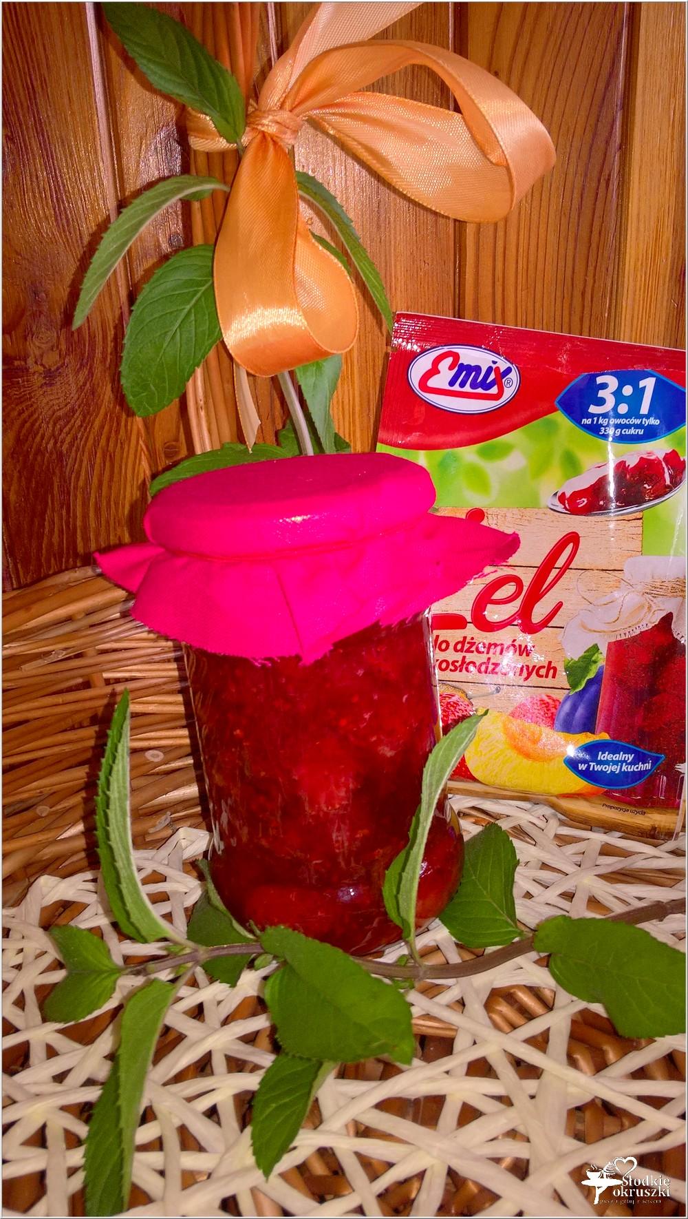 Dżem truskawkowy z cytrynowo-miętową nutą (3)