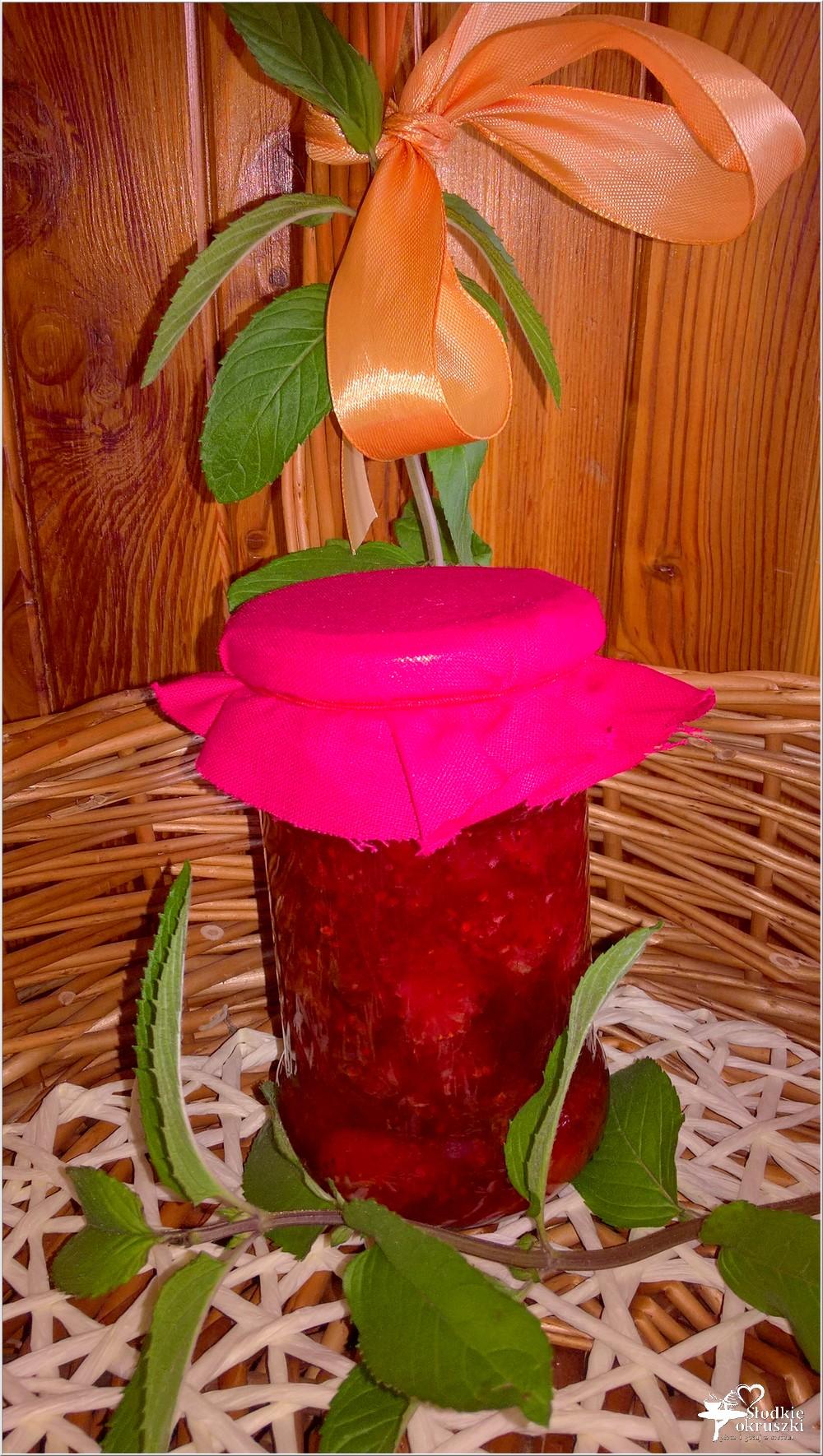 Dżem truskawkowy z cytrynowo-miętową nutą (4)