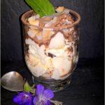 Deser z mascarpone i figową niespodzianką