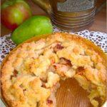 Gruszkowo-jabłkowe ciasto deserowe (kruche)