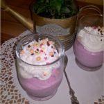 Jagodowe serniczki na zimno (w szklaneczkach)