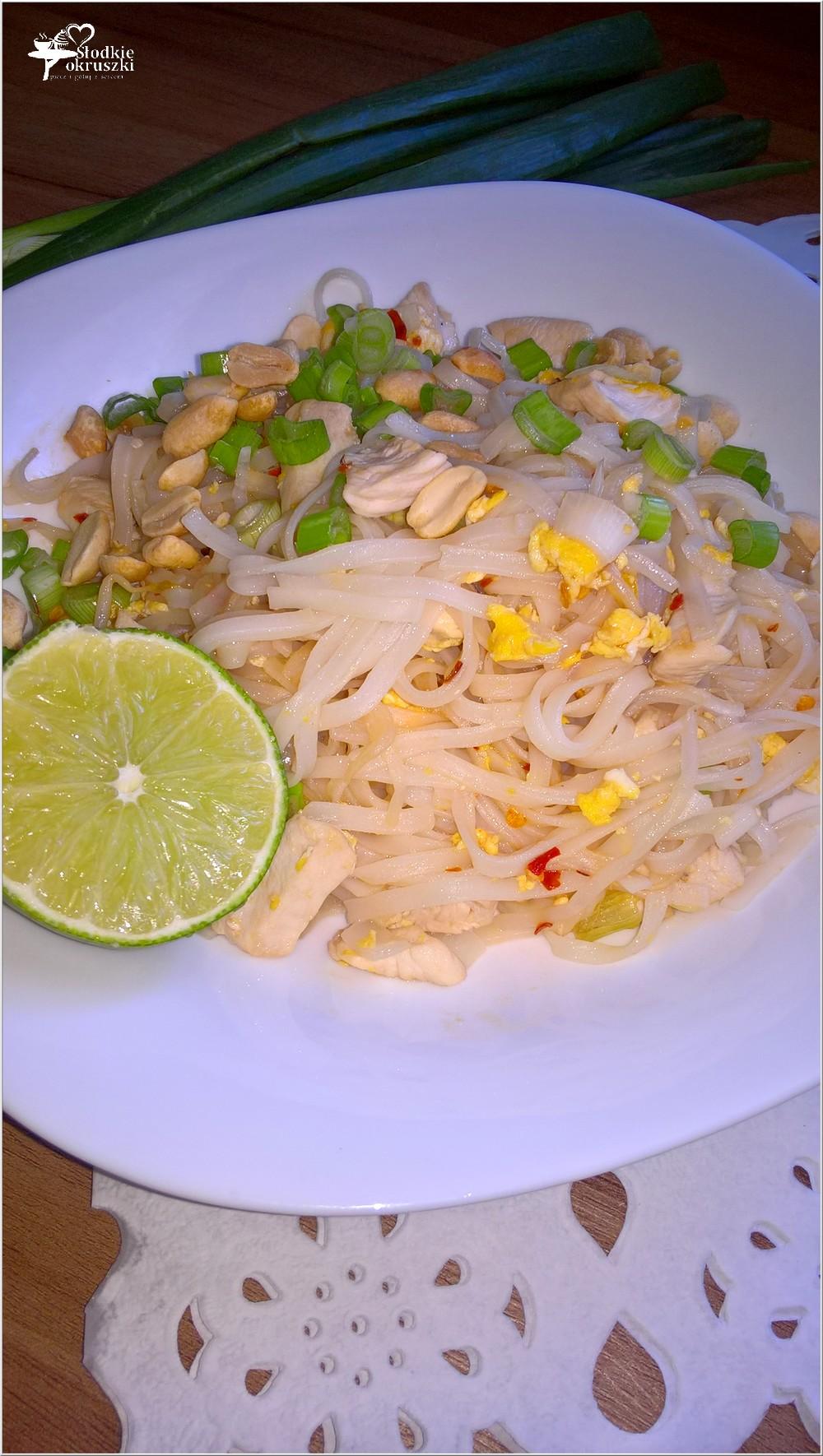 Pad Thai z kurczakiem (1)