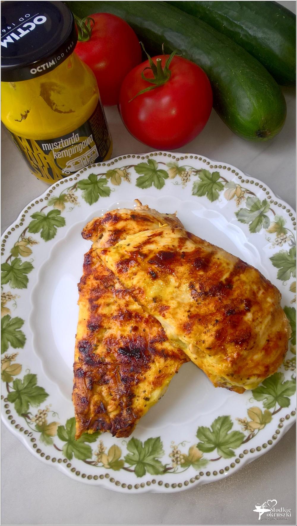 Piersi z kurczaka grillowane w musztardowej marynacie (1)